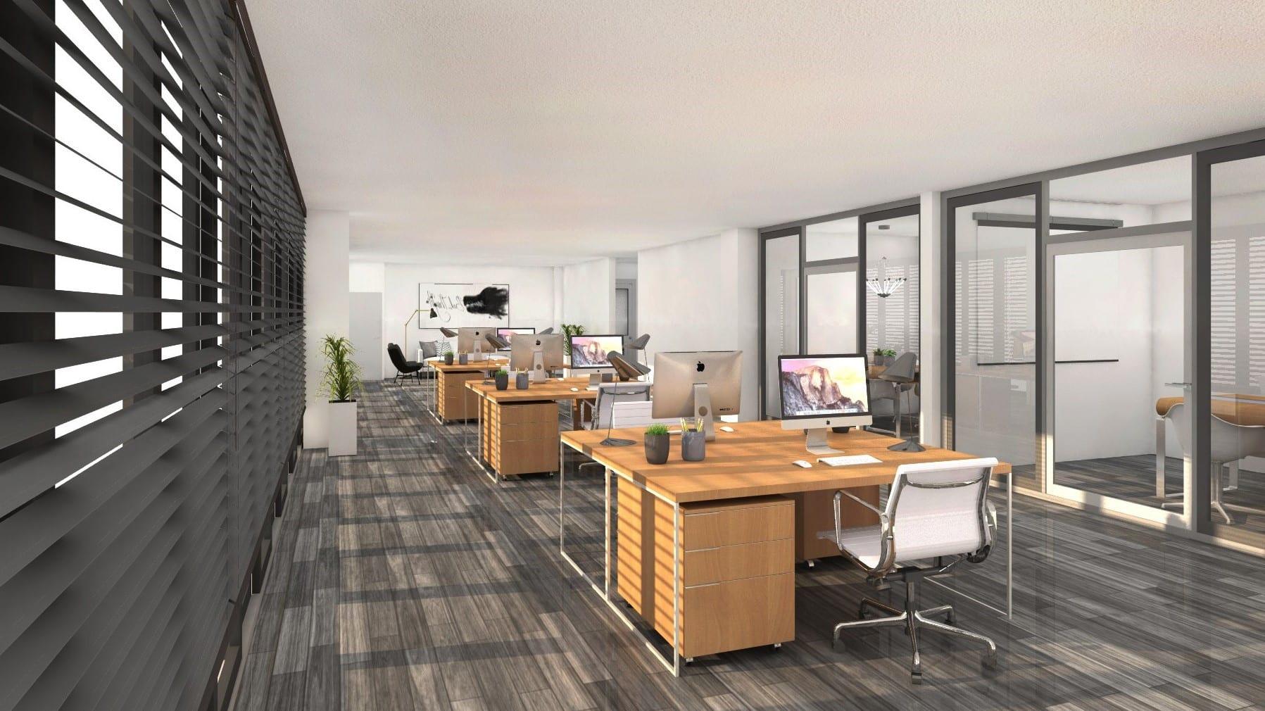 Commerciële ruimte gebouw Vesting