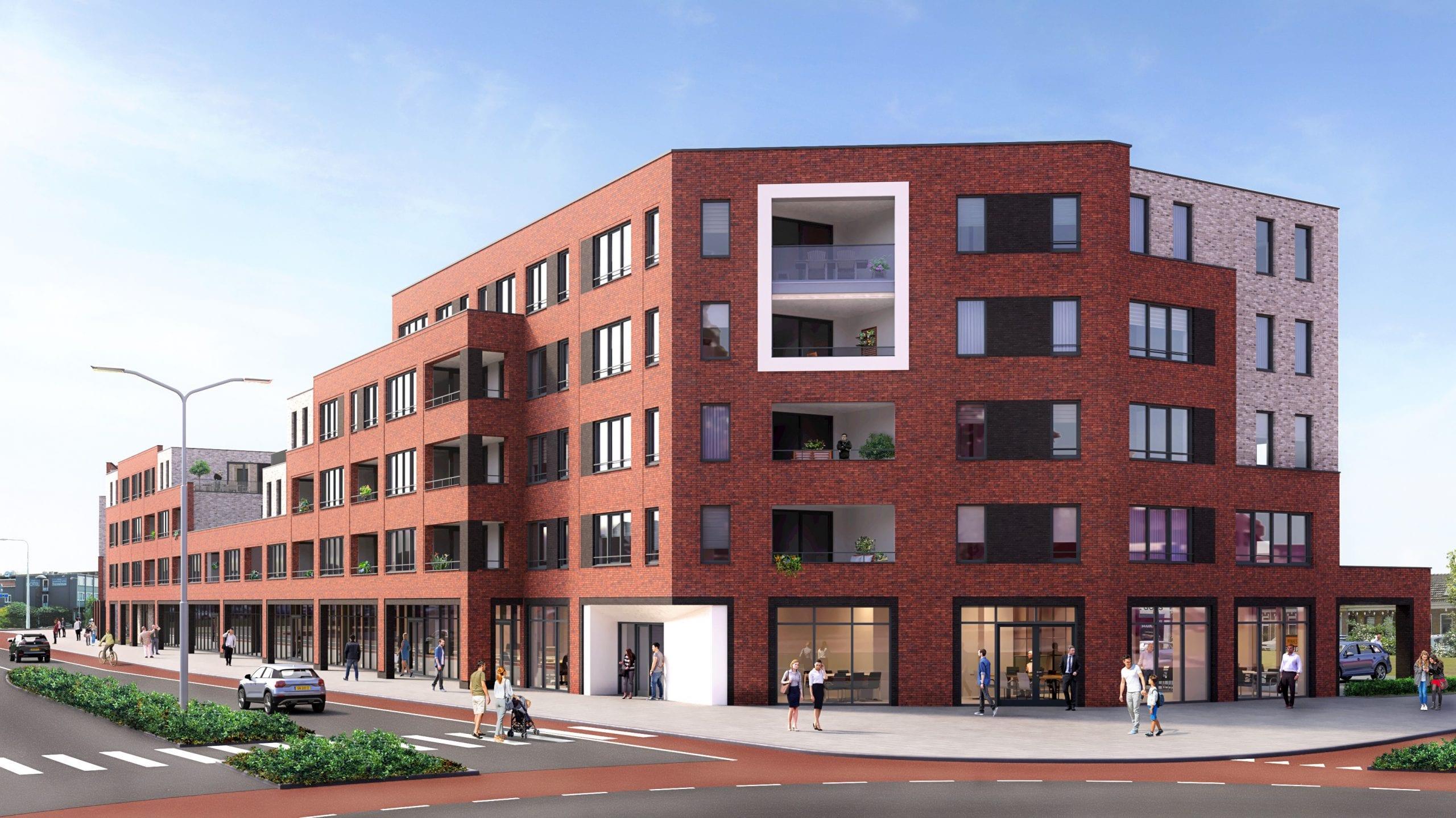 Appartementen gebouw Vesting