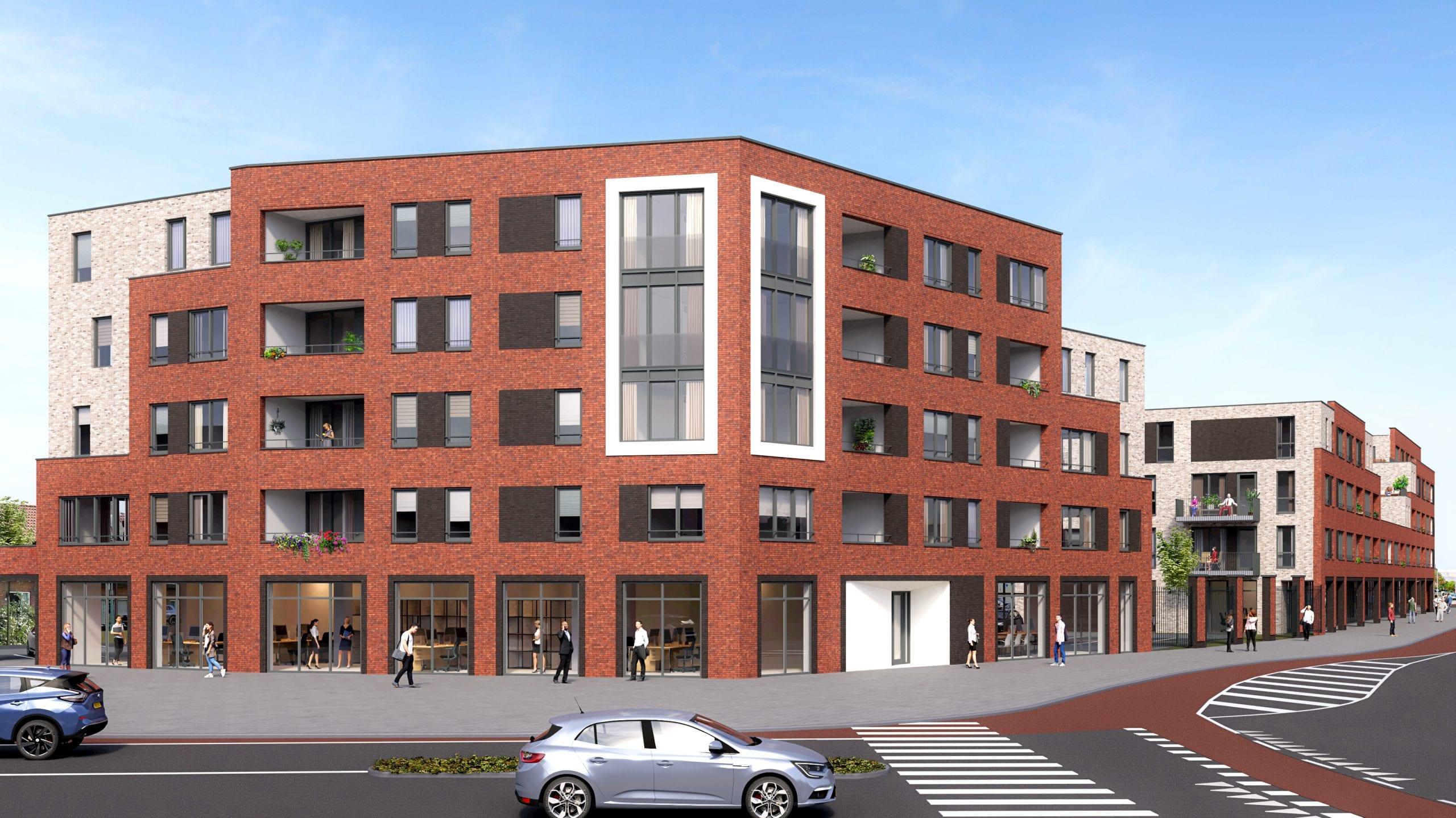Appartementen gebouw Burcht